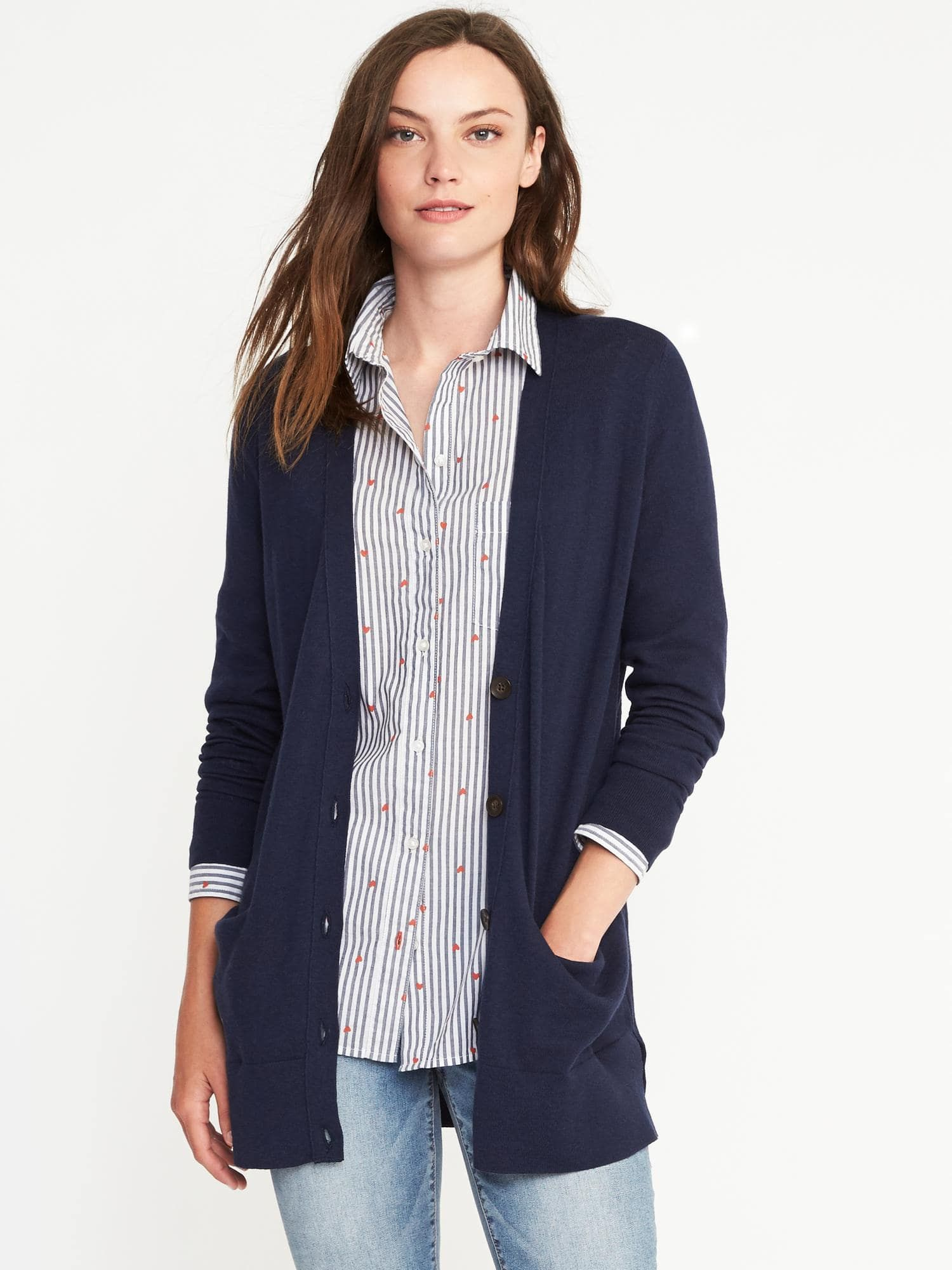 Perfect Boyfriend Cardi for Women | Old Navy | Clothes | Pinterest ...