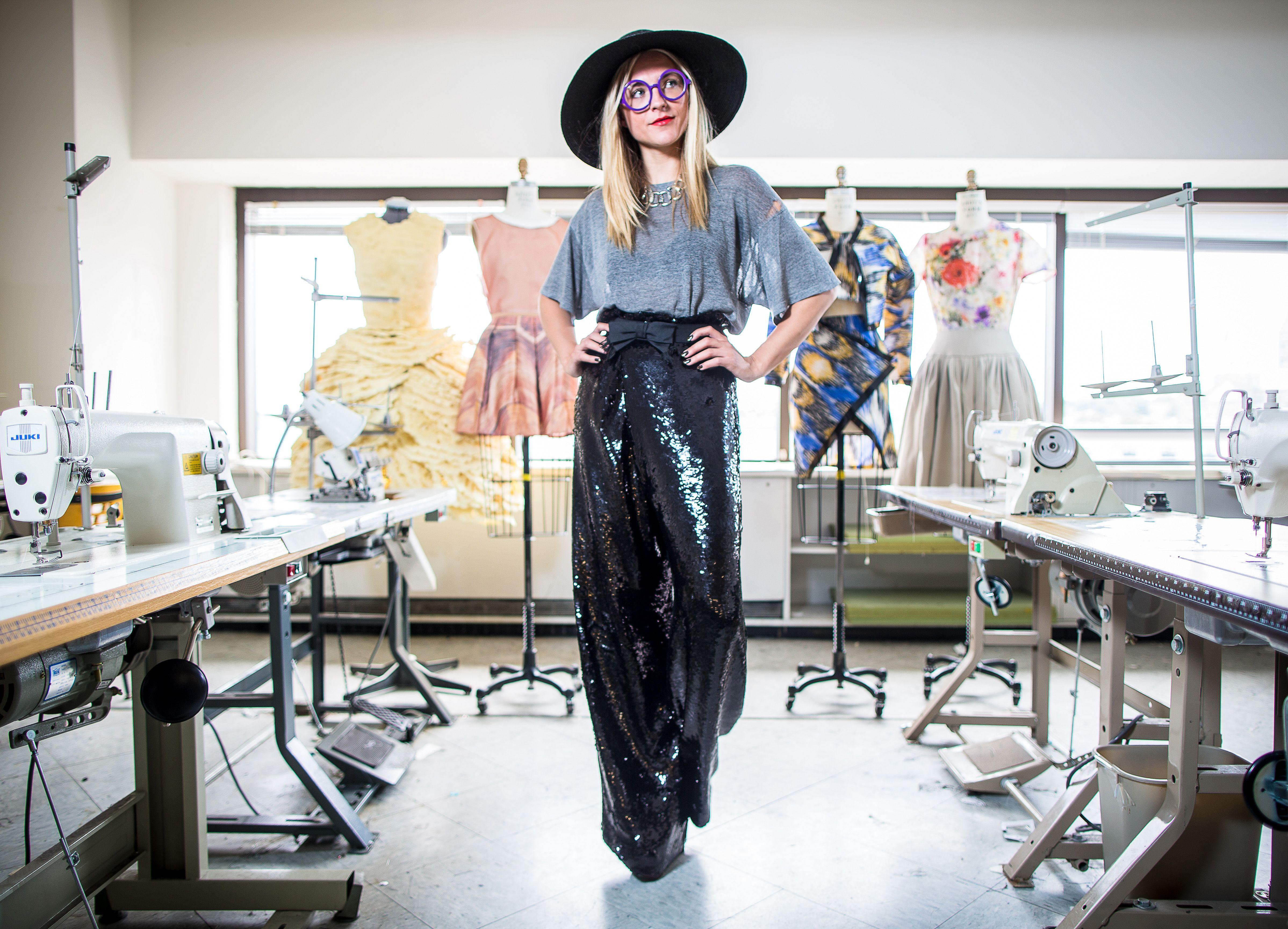 Massart Student Wins Prestigious Design Prize The Boston Globe Fashion Erin Robertson Fashion Design