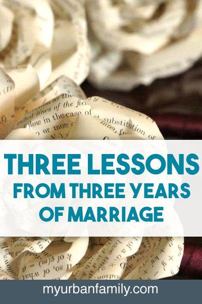 Three year relationship advice