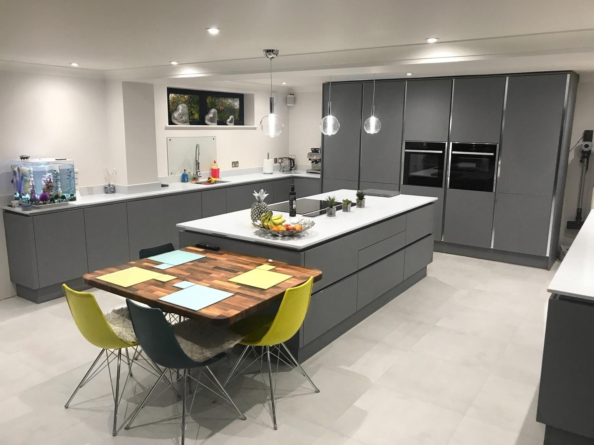 Pin by Lauren Smith on Dream Kitchens Open plan kitchen
