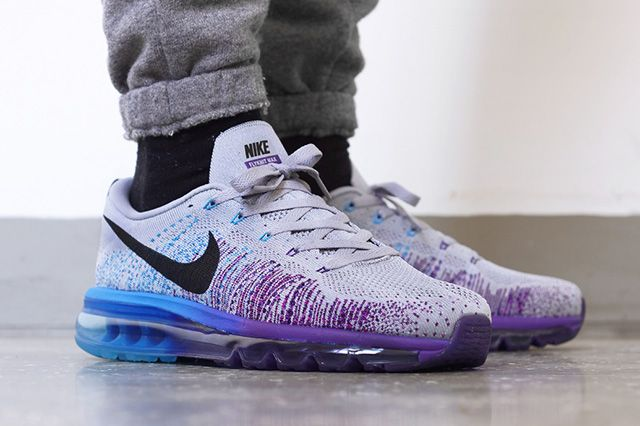 nike air max flyknit court purple