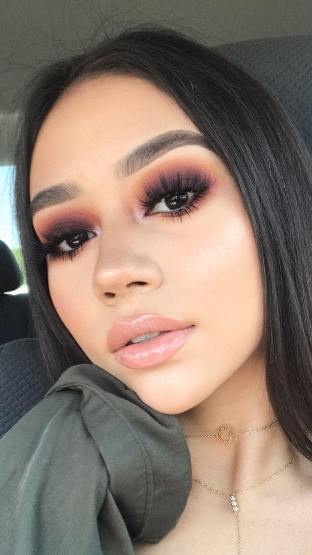 Photo of makeup look Smokey Eye For Brown Eyes Makeup