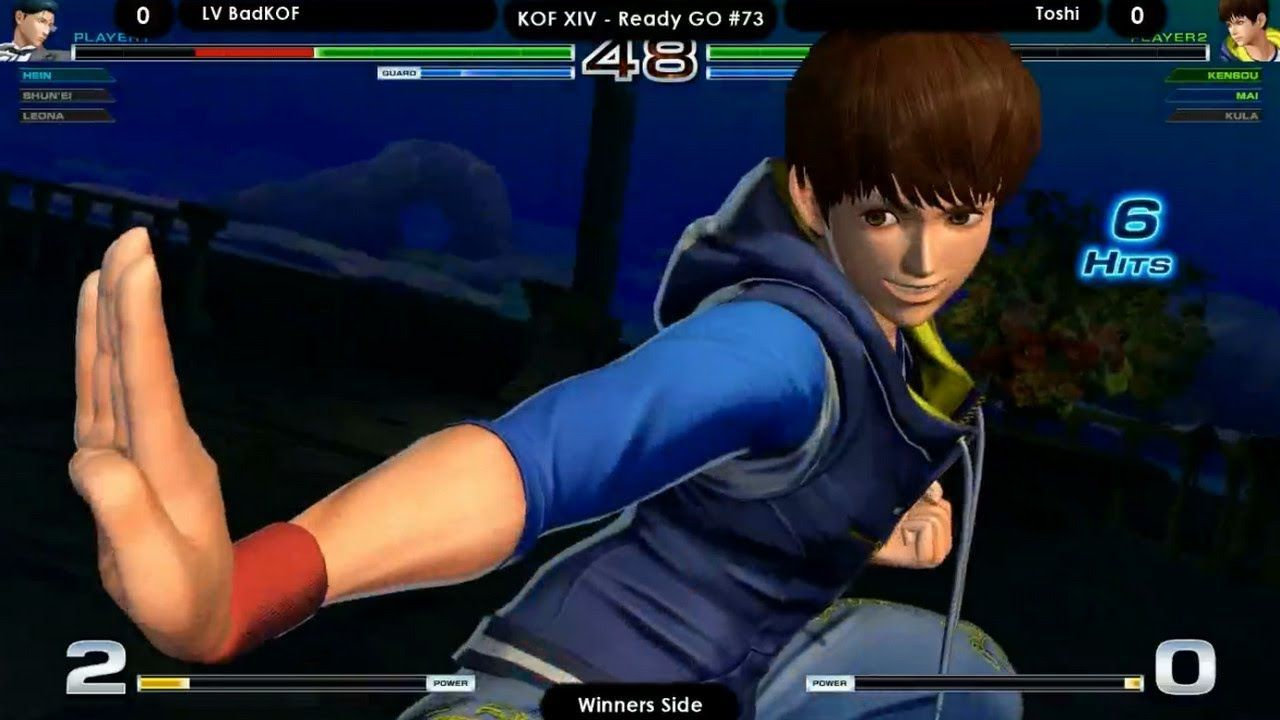 The King Of Fighters Xiv Lv Badkof Vs Toshi King Of Fighters