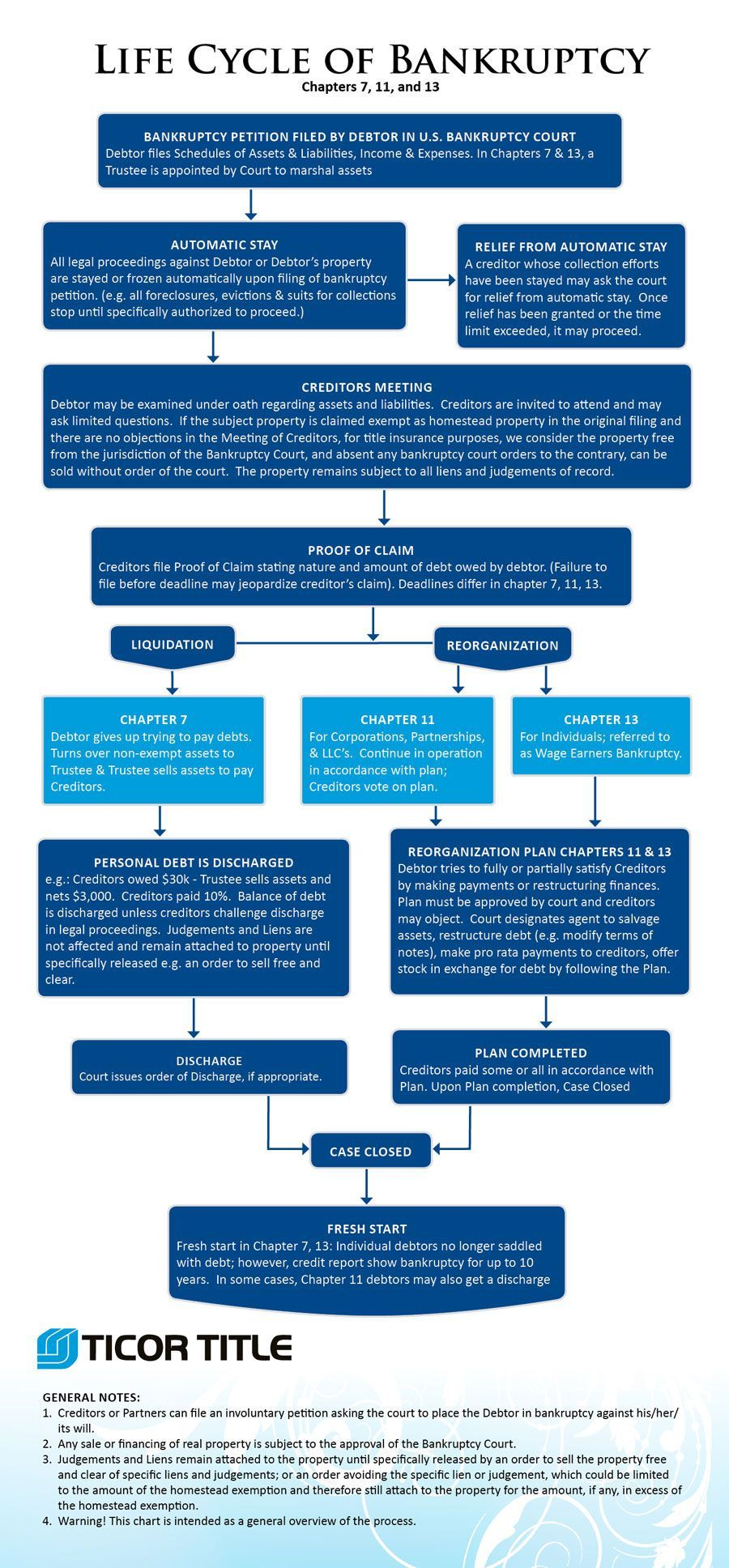 Life Cycle Of Bankruptcy Infographic Chapters 7 11 And 13 Credit Repair Companies Refinance Mortgage Credit Repair