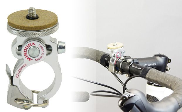 Slick Quick Release Camera Mount For Your Bike Lets You Shoot As