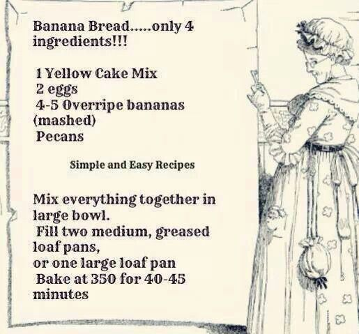 Over Ripe Banana Recipes No Flour
