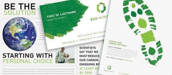 environmental non profit brochure print design pinterest