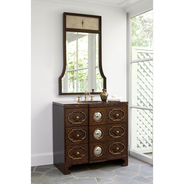 Captivating BULLS EYE SINK CHEST   Ambella Home #Sinkchests #Bathroom #Vanity
