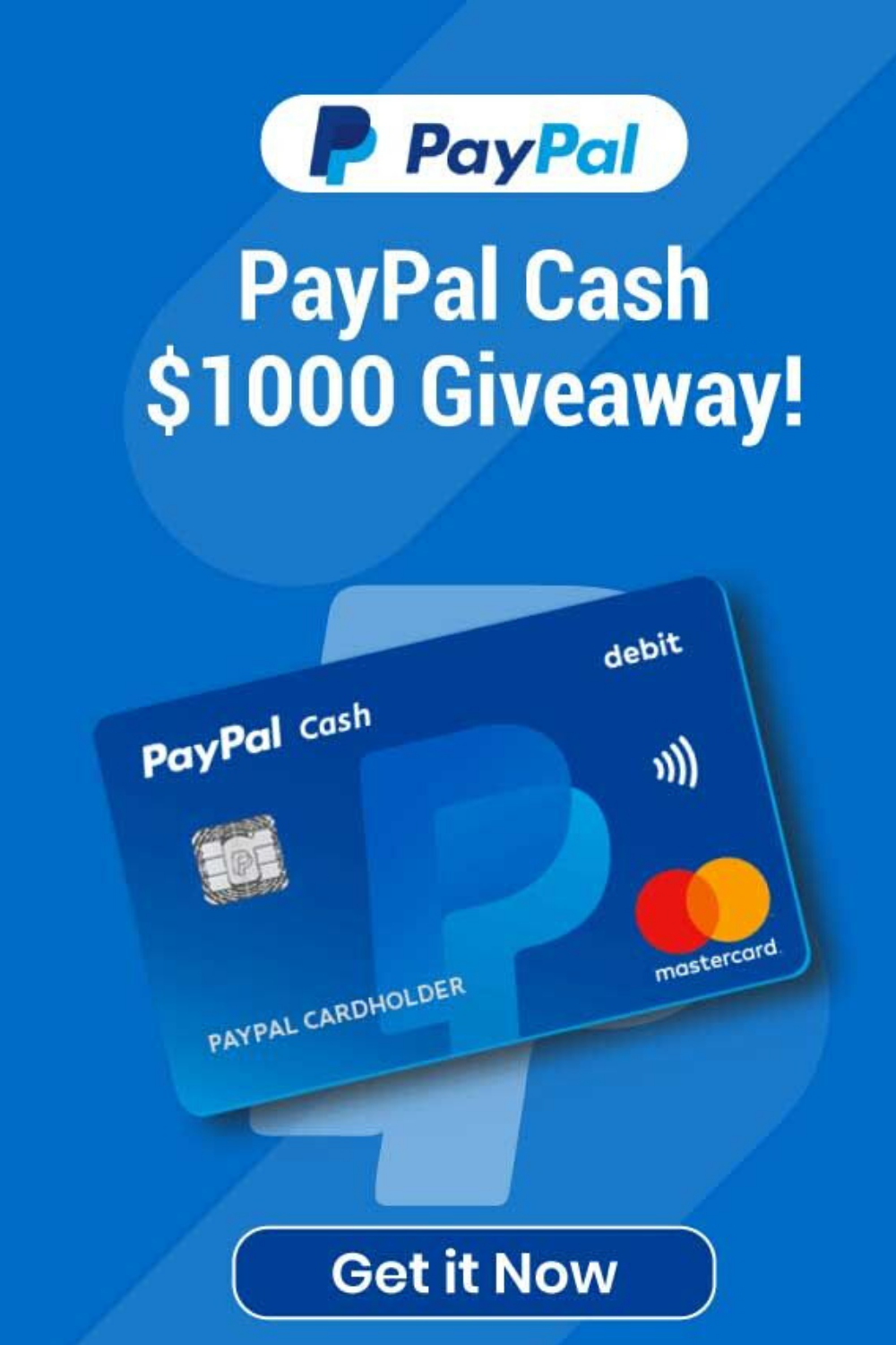 Get a 1000 PayPal Gift Card Now! Claim Free PayPal Money