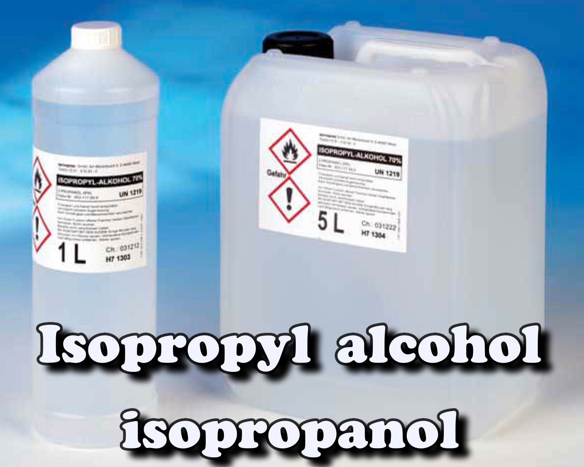 Isopropyl alcohol, (isopropanol, 2propanol) / Is in stock