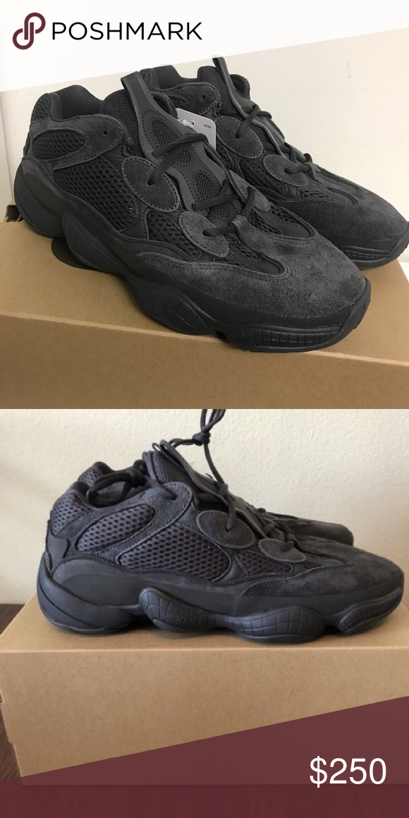 29a31f763111f Yeezy 500 utility black size 10.5 Worn 2 times but in very good condition