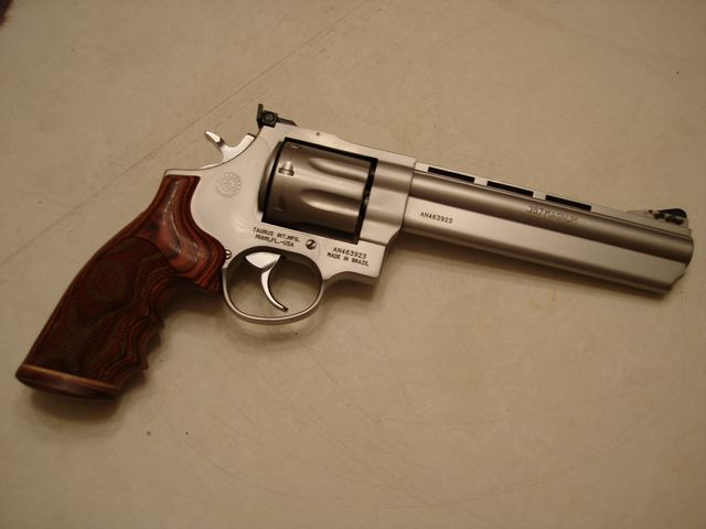 Taurus 608  357 magnum with wooden grips | Firearms Are My
