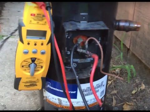 Testing A Compressor Youtube Refrigeration And Air