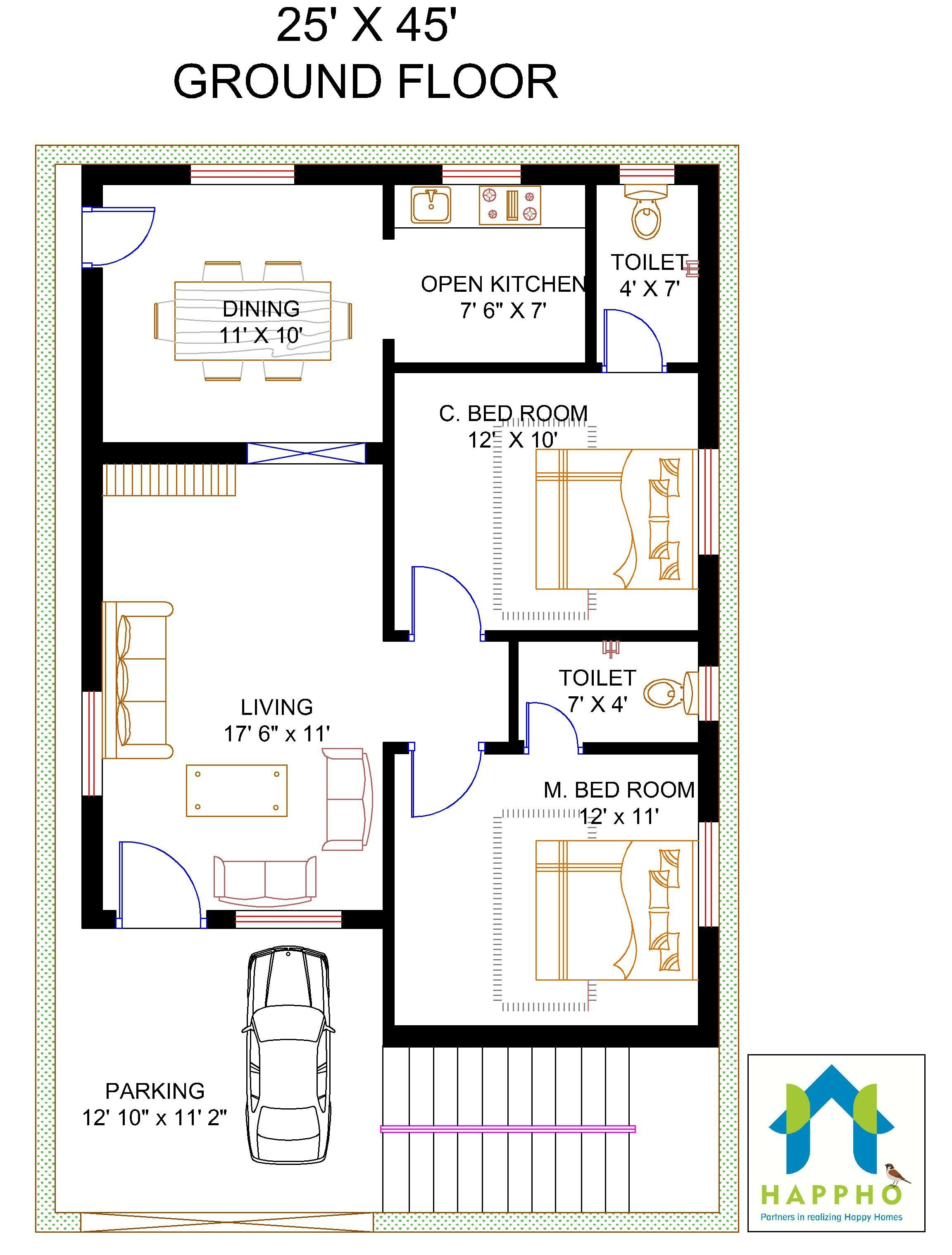 Related image home map design duplex house front also architectural plans bedroom rh pinterest