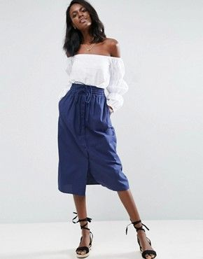 Search: ASOS Midi Skirt Button - Page 1 of 1   ASOS