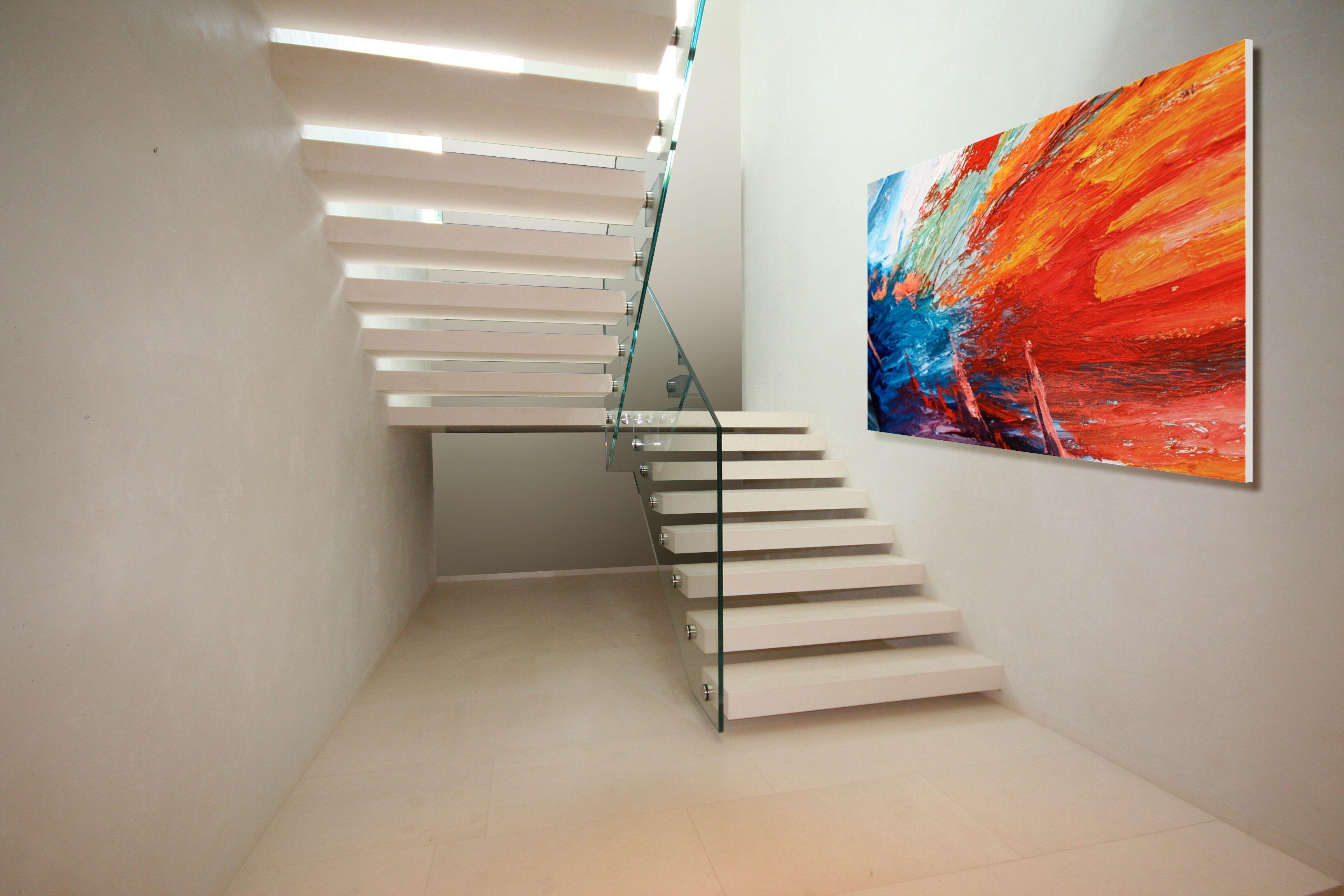 Genial Moderne Treppen Beste Wahl Kragarmtreppe Aus Corian Www.sillertreppenreview/kragarmtreppen-aus-corian/ Www
