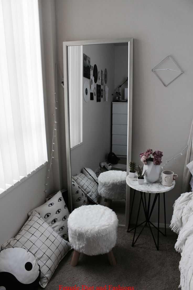 Bedroom White Tumblr Kamar Aesthetic Homyracks