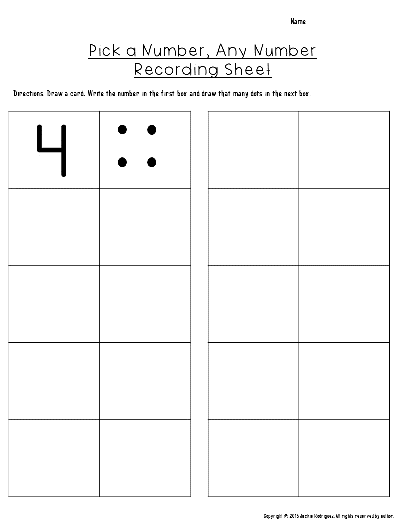 Numbers 0-20 writing, number correspondence and identify ...