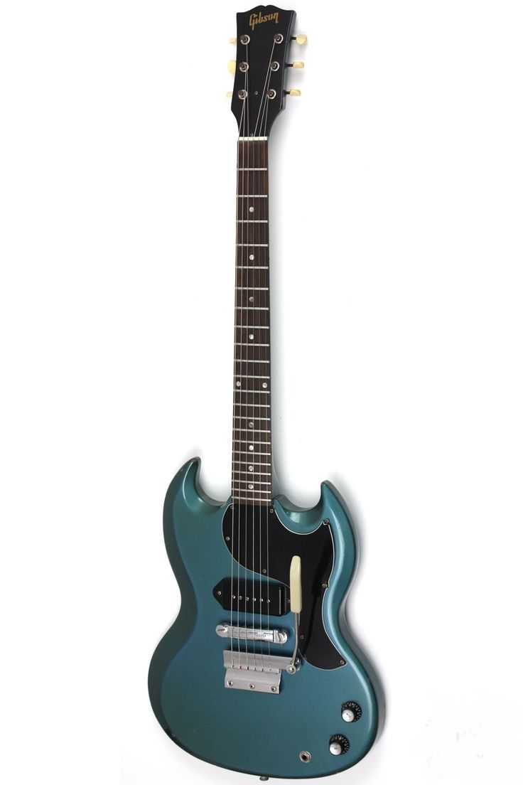 1965 Gibson SG Junior Pelham Blue Heres A Guitar That Youll Loose Some Sleep Over Is Gibsons Coolest Custom Color Its Shame Theyre So