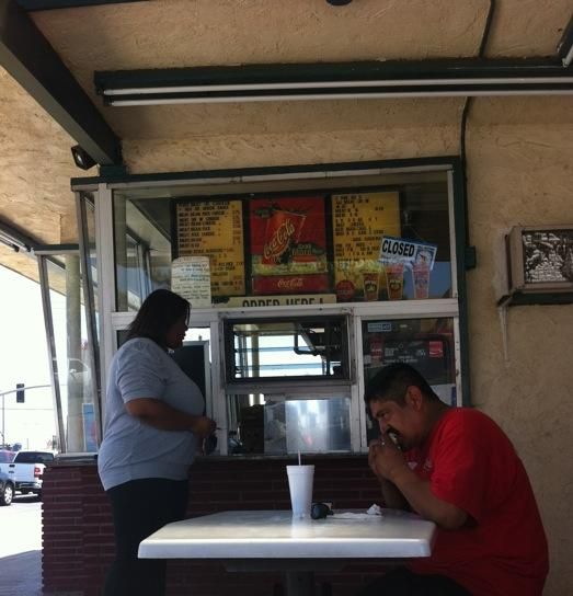 Juanita S Burrito Stand On South Indian Hill Boulevard Pomona California The Best Burritos Planet