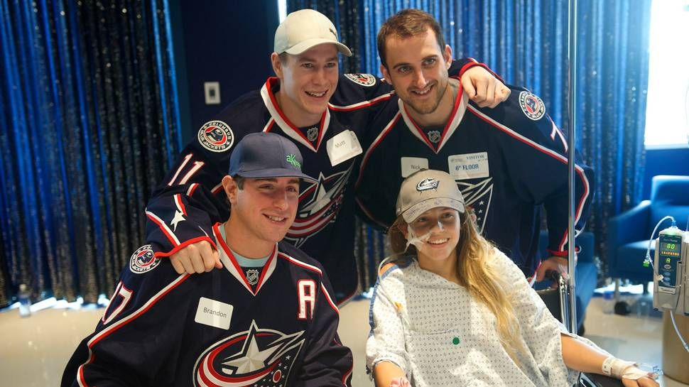 Giving back a longterm commitment for Blue Jackets Blue