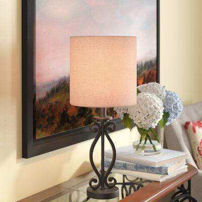Fleur De Lis Living Burlington Coil 23 Table Lamp Table Lamp