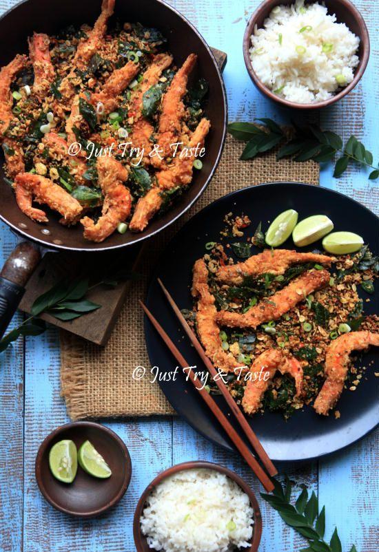 Resep Udang Goreng Oatmeal A La Singapore Resep Udang Masakan Asia Memasak