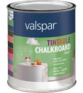 valspar tintable chalkboard paint available colors club soulard pinterest chalkboard paint. Black Bedroom Furniture Sets. Home Design Ideas