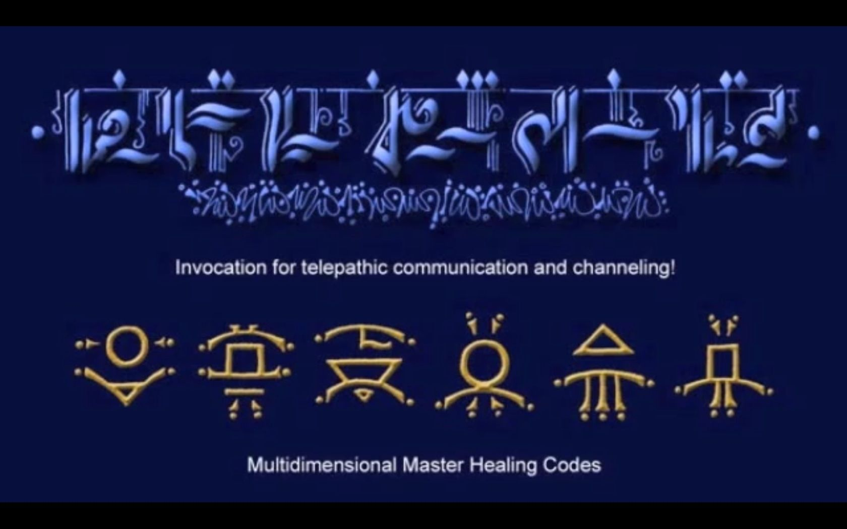 Invocation for telepathic communication and channeling pleiadian occult biocorpaavc
