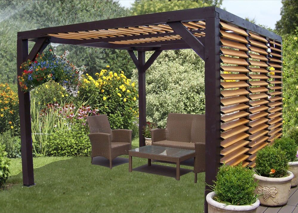 habrita pergola carport ombra bois en 2019 promotion carrefour. Black Bedroom Furniture Sets. Home Design Ideas