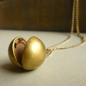 There is something magical about an old locket. There just is.