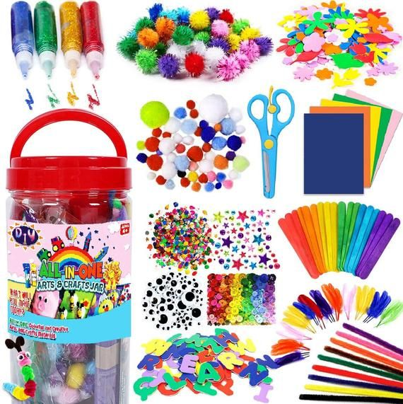 Arts and Crafts Supplies for Kids - Craft Art Supp