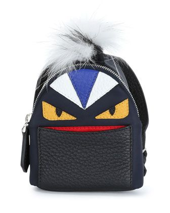 5f7d4d122516 Micro+Monster+Backpack-Shaped+Charm++by+Fendi+at+Neiman+Marcus ...