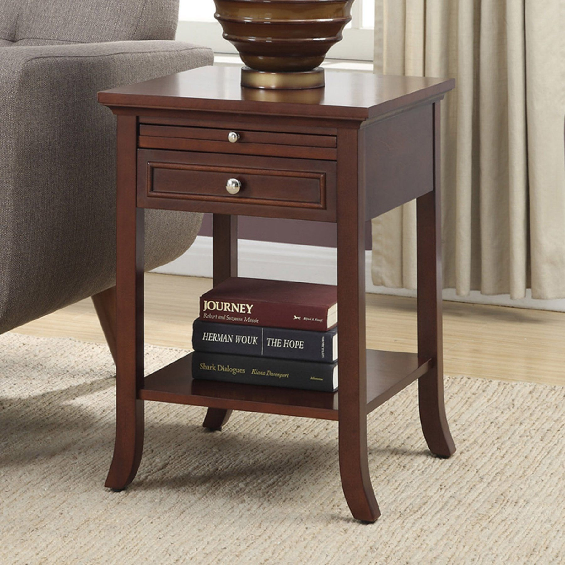 American Heritage Furniture Living Room: Convenience Concepts American Heritage Logan Square End
