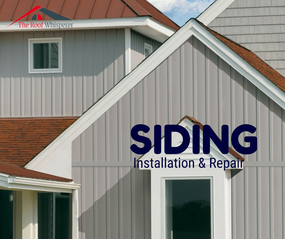 Sidings Often Need To Be Replaced Or Repaired Otherwise They Will Affect The Weather Resistance Capacity Of Your House Siding Vertical Siding Roof Repair
