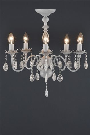 Buy bethany 5 light grey washed chandelier from the next uk online buy bethany 5 light grey washed chandelier from the next uk online shop aloadofball Image collections