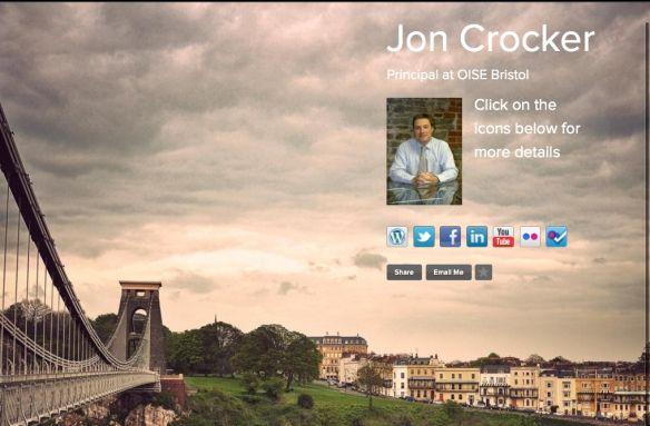 Jon Crocker business card