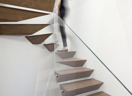 Best Modern Staircase Ideas Floating Stairs With Glass Railing 400 x 300
