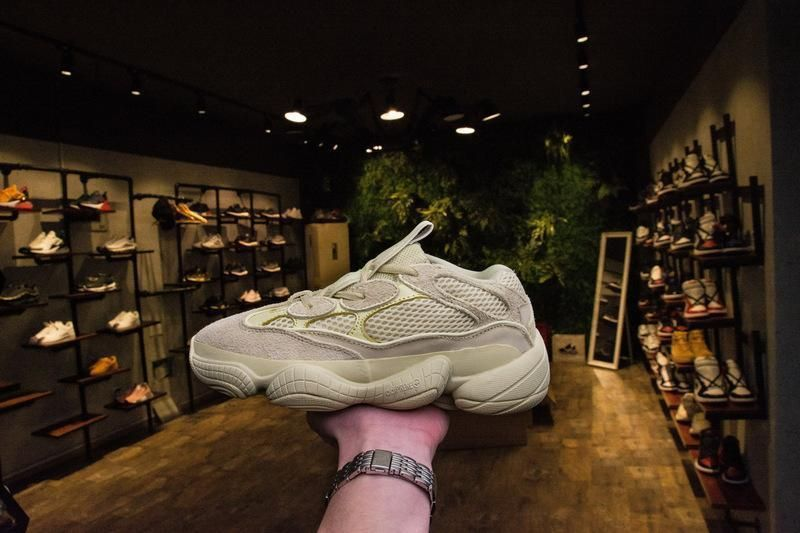 Given to me as a gift db2966 Yeezy 500 Super Moon Yellow