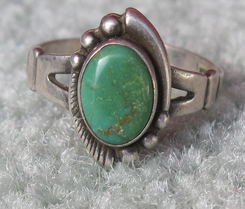 navajo wedding rings Navajo Jewelry Maker Marks Jewelry Gems Minerals Platinum markings inside wedding band