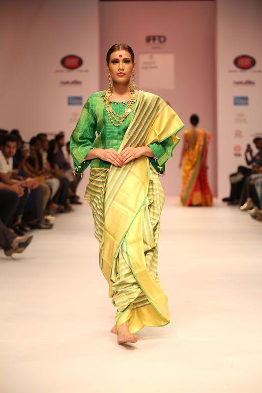 Sailesh Singhania India Runway Fashion Week Upcoming Designer Handloom Sustainable Fashion Indian Heritage Fashion Fashion Design Indian Fashion