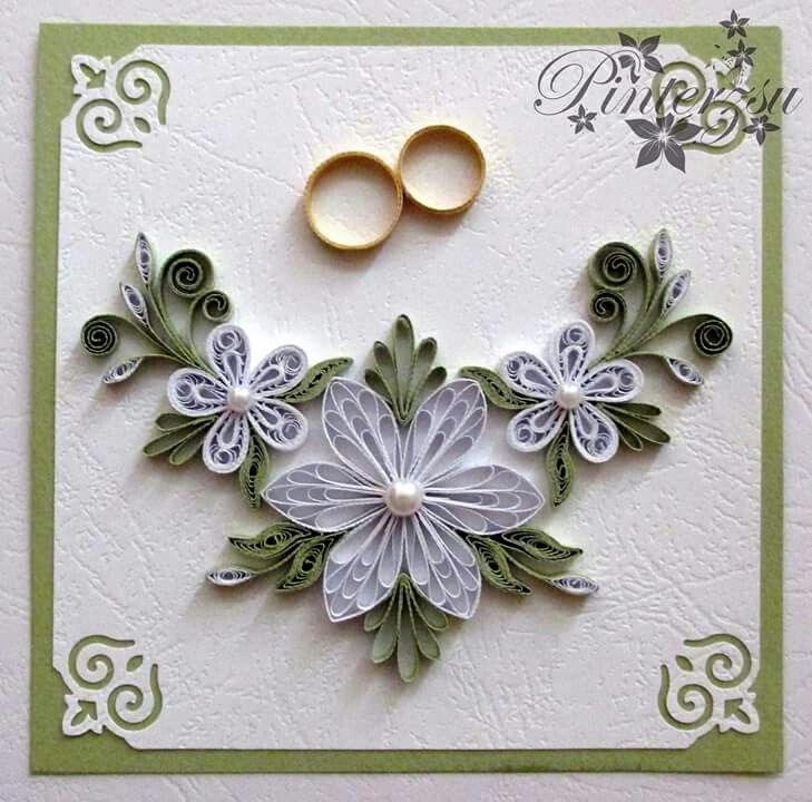 Explore Quilling Flowers Cards And More