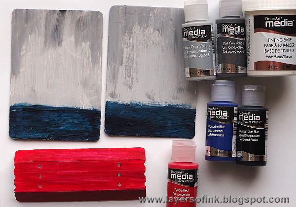 Layers of ink: Crackle Album Tutorial