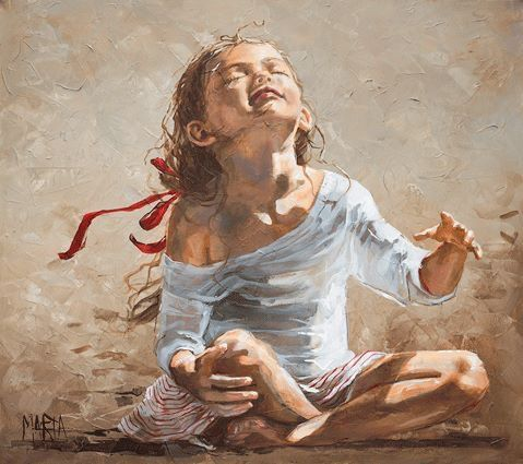 Precious child in prayer, worship, praise to the Lord. Prophetic art. | Art painting images, Prophetic art, Worship  art painting