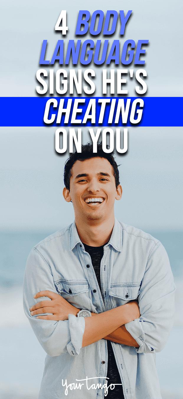 body language cheating