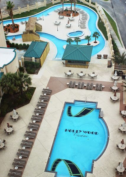 Hollywood Casino In Biloxi Has A Lazy River Would Be About 35 A