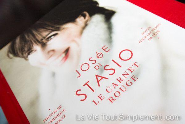 Un livre tout simplement réconfortant! Josée Di Stasio - Carnet rouge sur www.lavietoutsimplement.com