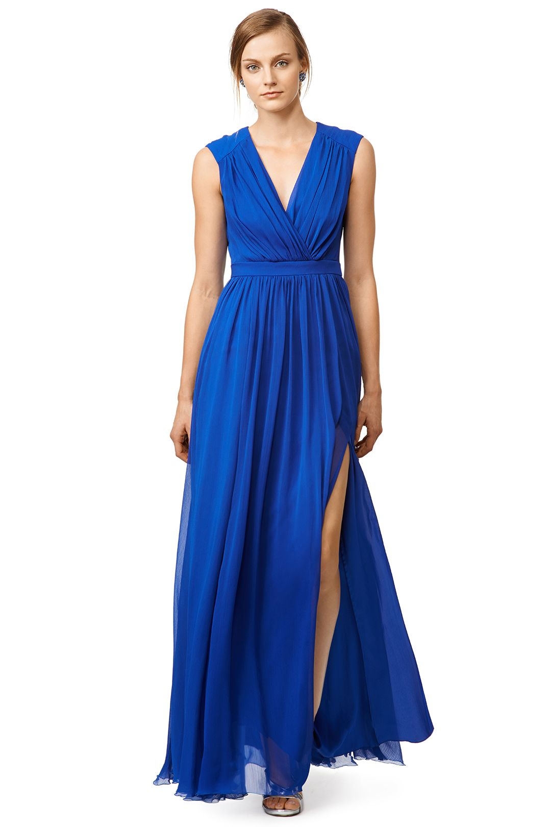 Rent Sea Waves Gown by Badgley Mischka for $150 only at Rent the ...