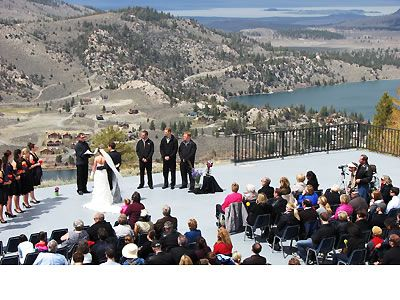 June Mountain Ski Area Mammoth Lakes Weddings Wedding Locations Eastern Sierra Reception Venues 93529