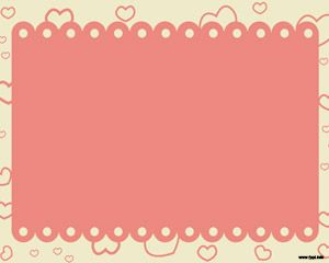 Hearts Scattered Powerpoint Free Powerpoint Templates Background For Powerpoint Presentation Powerpoint Background Design Background Powerpoint